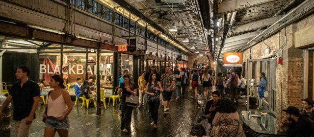 Regen und der Chelsea Market